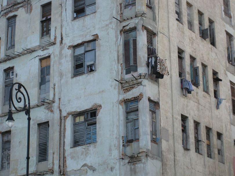 фрагмент жилого здания