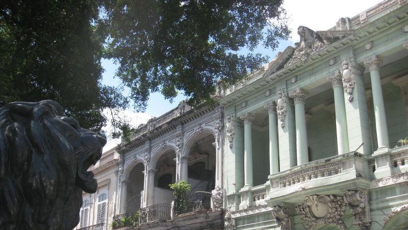 барочные здания в центре Гаваны