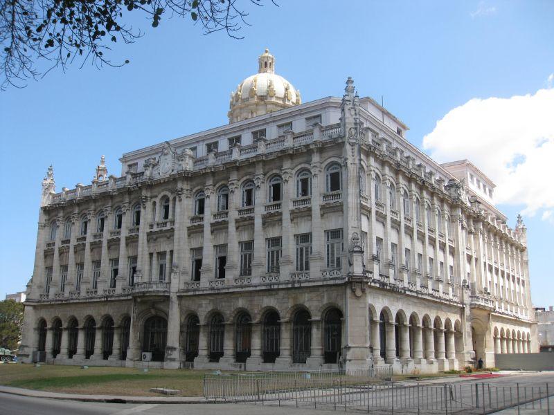 какое-то министерство или ведомство в Гаване