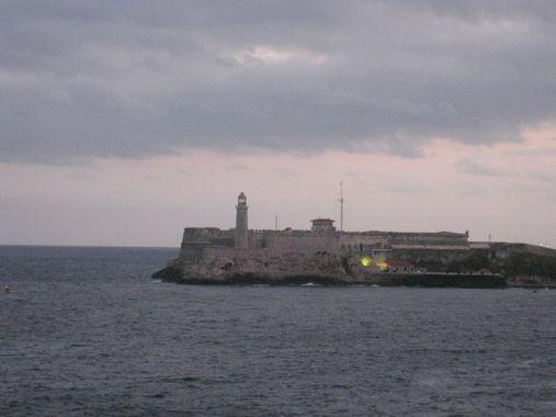 крепость эль-моро с маяком