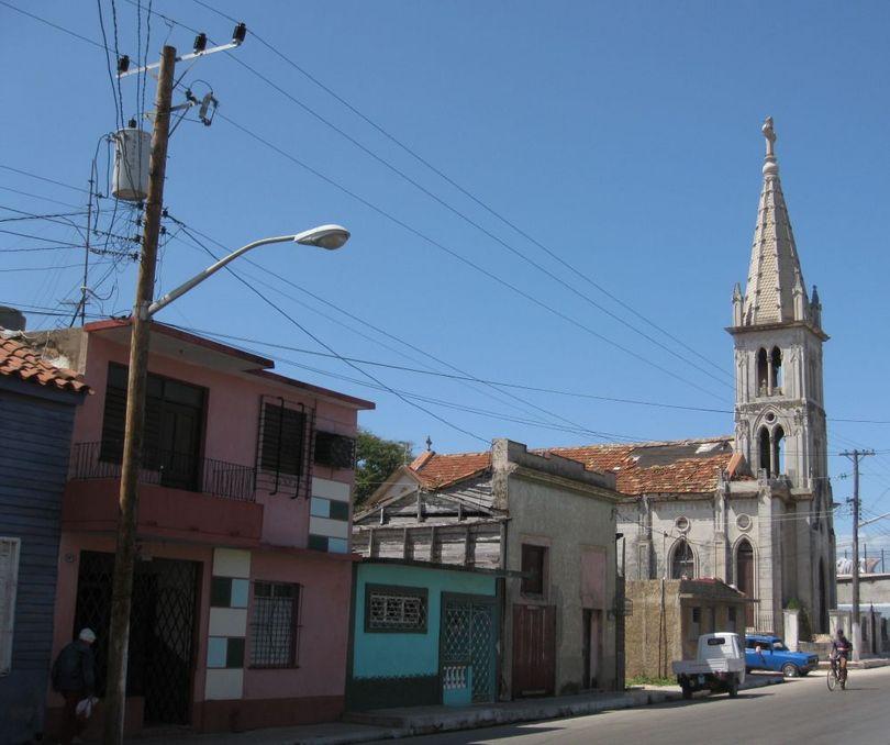 улица с собором