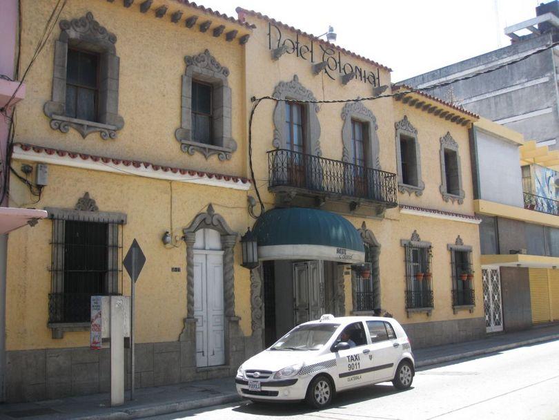 Отель colonial ( гватемала )