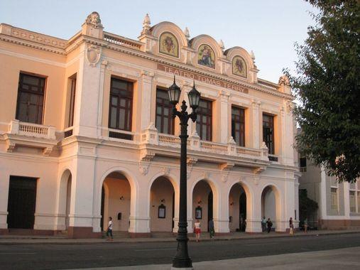 Театр томас терри - Сьенфуэгос, Куба