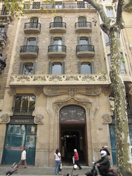 Здание жилого дома на Гран Виа