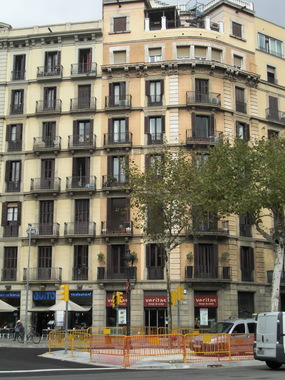 Здание многоэтажного жилого дома