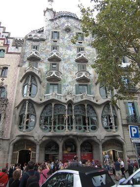 Жилой дом - архитектор Гауди