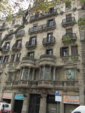 ������ ������ ���� �� Gran Via de les Corts Catalanes