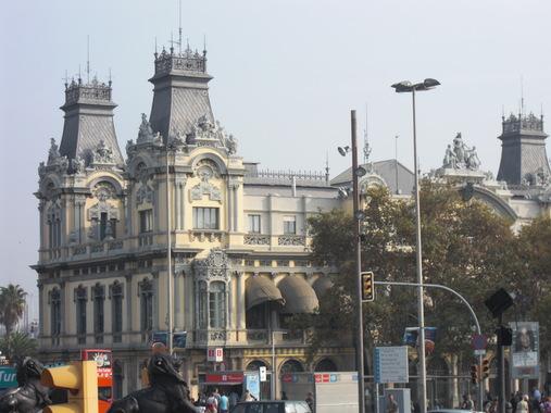 Прелестное здание в района порта