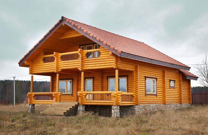 Деревянные дома и бани для загородного строительства.