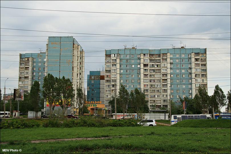 Самара. Многоэтажки (отр.адм.)
