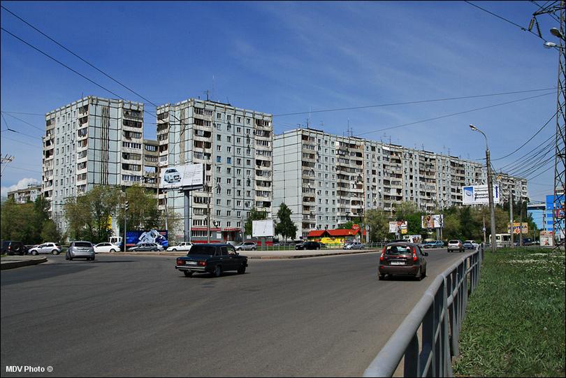 Самара. Многоэтажки