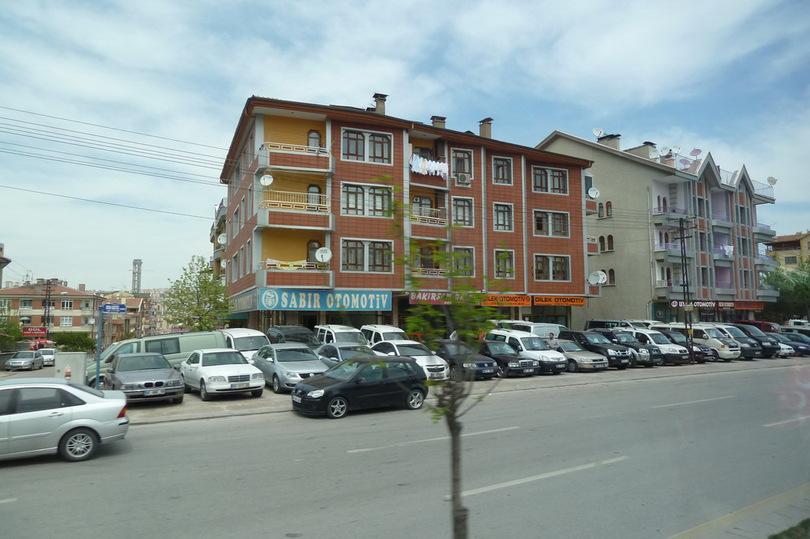 Архитектура трёхэтажных зданий