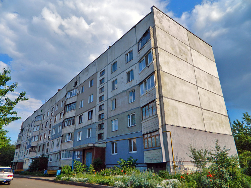 Пятиэтажный II-57. Харьков, Фрунзе 1А