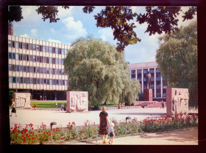 Литва. Каунас 1981