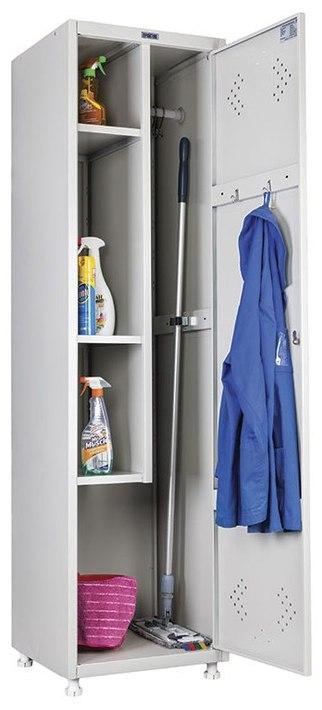 Шкаф хозяйственный  для хранения инвентаря LS 11 50
