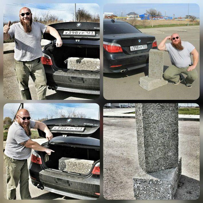 Производство Арболит Блока в Краснодаре
