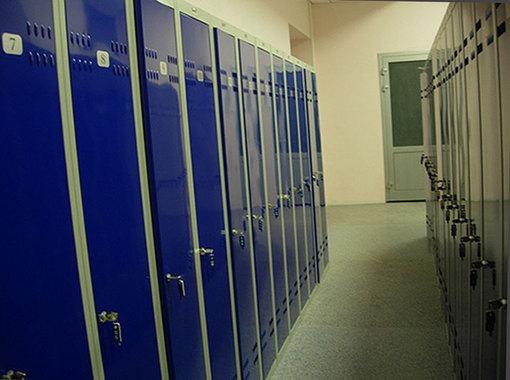 Шкафы для спортивных раздевалок и фитнеса