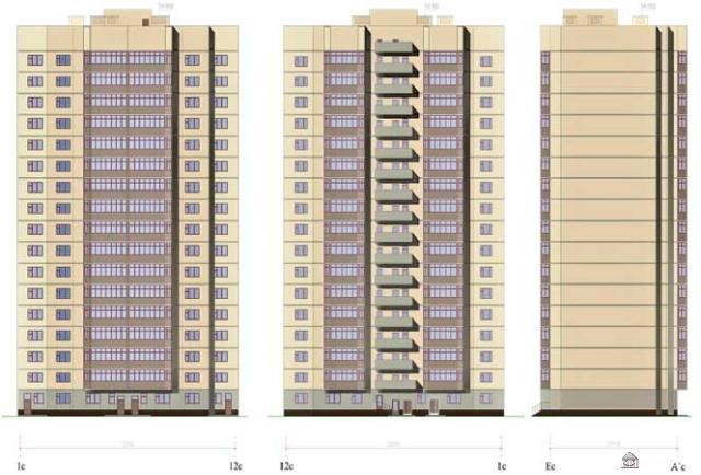Серия С-220,  планировки квартир с размерами ( отр. адм. ) Помогите определить серию дома
