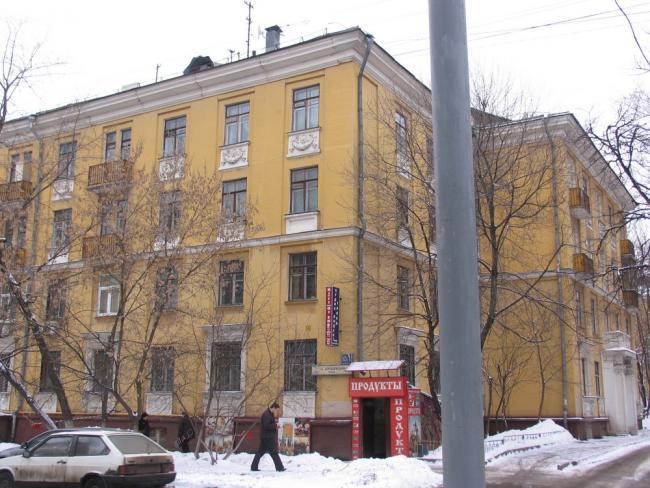 жилые дома на Беговой ( 1-ый Хорошевский проезд )