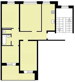 83 серия планировка (отр. адм. ) Помогите определить серию дома