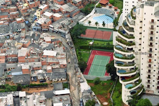 Богатые и бедные дома