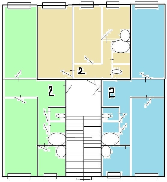 Серия 1-464А-15, пятиэтажные дома, планировки квартир (отр.адм.) Помогите определить серию дома
