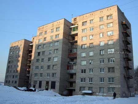 Планировка серии общежитий 1–447-С-54
