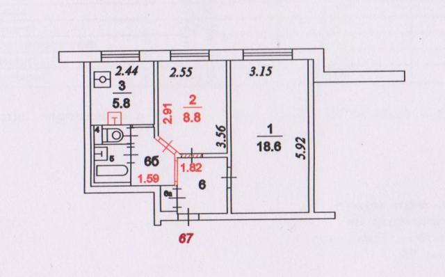 Дома серии ii-49 - форум здания.ру - планировки квартир, сер.