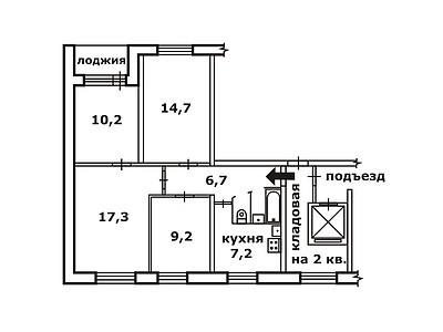 1-467А или 1-467Д с планировками квартир (отр.адм.) Помогите определить серию дома