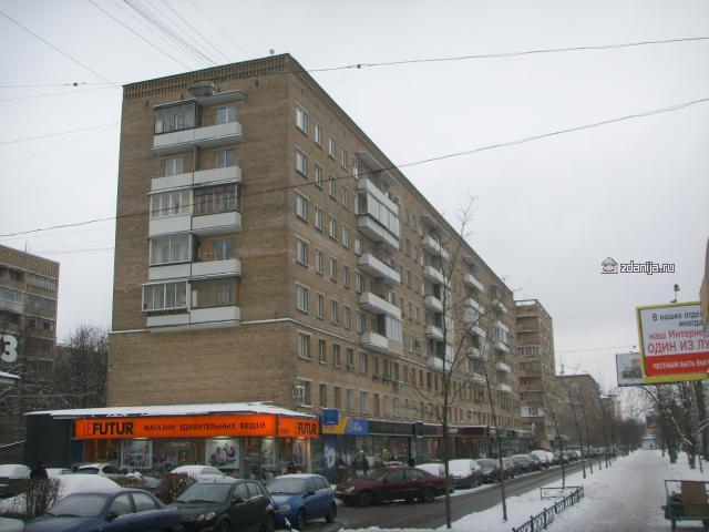 Комсомольский проспект, д. 25 корп 1 Москва Что за серия?