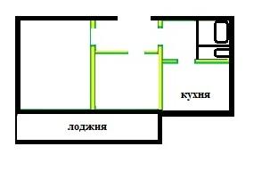 Серия 125 Домодедово планировка двухкомнатной квартиры
