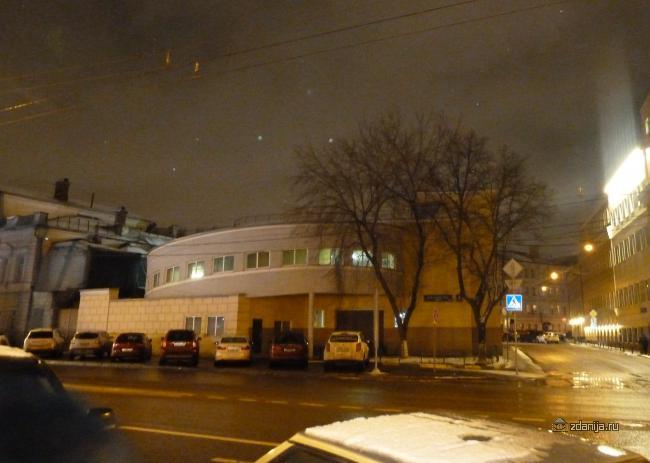 Москва, Каретный ряд дом 4, стр. 3, конструктивизм