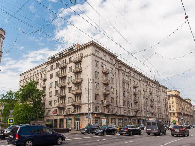 Москва, Тверская-Ямская 1-я ул., дом 11, информация о доме
