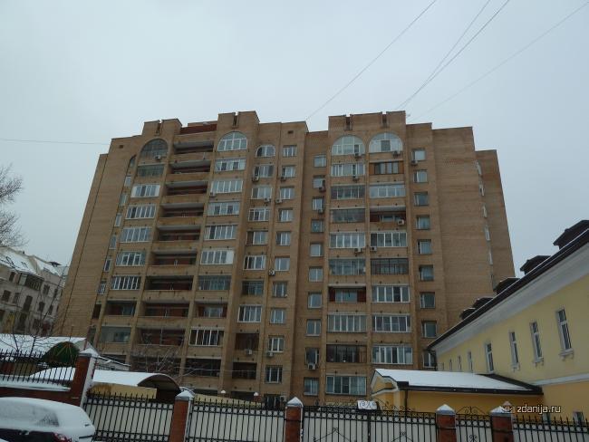 Москва, Троицкая улица, дом 9, корпус 1 (ЦАО, район Мещанский)