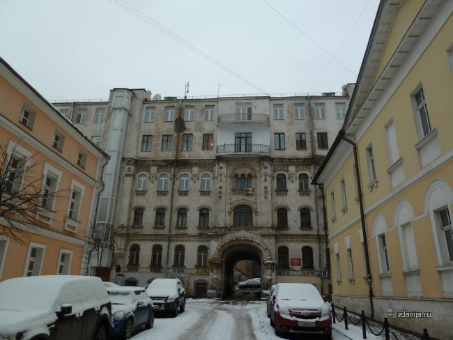 Москва, 2-й Троицкий переулок, дом 6 (ЦАО, район Мещанский)