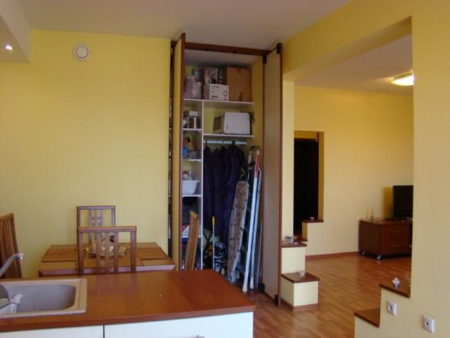 Современный дизайн однокомнатной квартиры-студии 60 кв. м