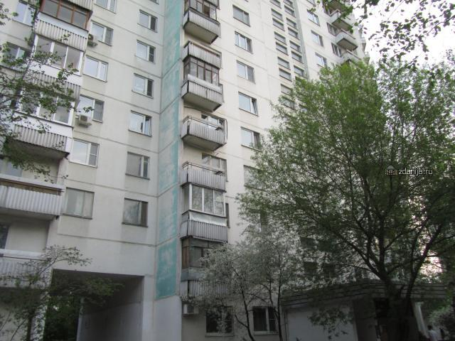 Москва, улица Маршала Катукова, дом 3, корпус 1, Серия - П-3 (СЗАО, район Строгино)