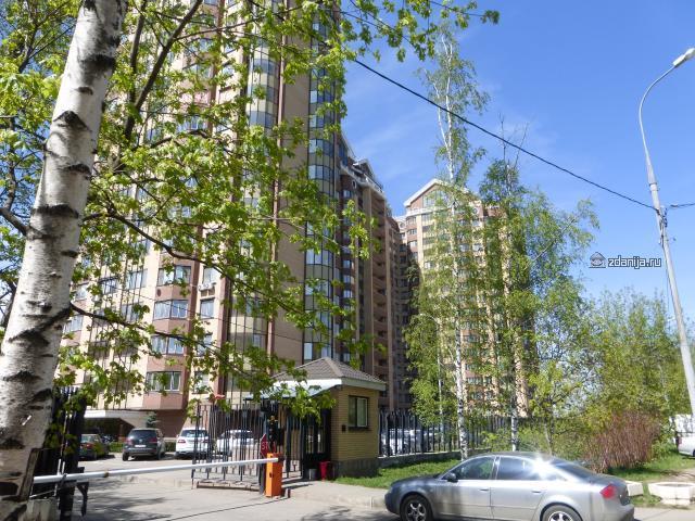 Москва, Красностуденческий проезд, дом 6 (под. 1-4) (САО, район Тимирязевский)
