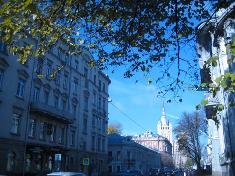 Москва, Поварская улица, дом 29/36, строение 1 (ЦАО, район Арбат)