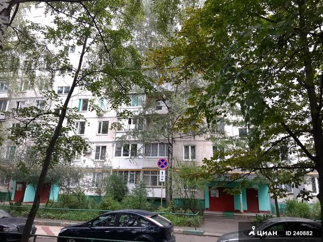 Москва, Снайперская улица, дом 4, Серия: II-49Д (ВАО, район Вешняки)
