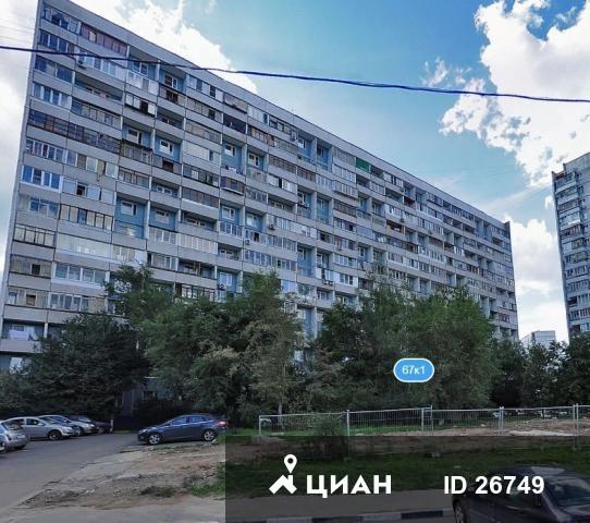 Москва, Ореховый бульвар, дом 67, корпус 1 (ЮАО, район Зябликово)