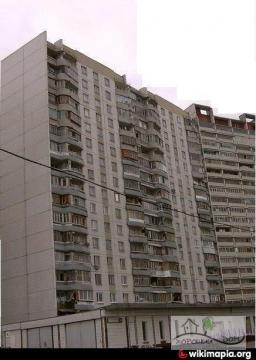 Москва, улица Гурьянова, дом 61, Серия П-44 (ЮВАО, район Печатники)