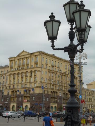 Москва, Тверская улица, дом 19 (ЦАО, район Тверской)