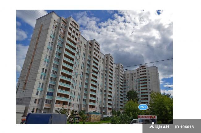 Москва, 1-я Вольская улица, дом 24, корпус 1, Серия ГМС-2001 (ЮВАО, район Некрасовка)
