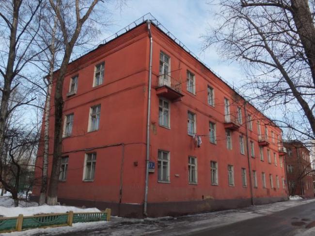 Москва, Стандартная улица, дом 17, корпус 1, Серия II-01 (СВАО, район Алтуфьевский)