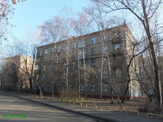 Москва, Планетная улица, дом 35, Серия II-01 (САО, район Аэропорт)