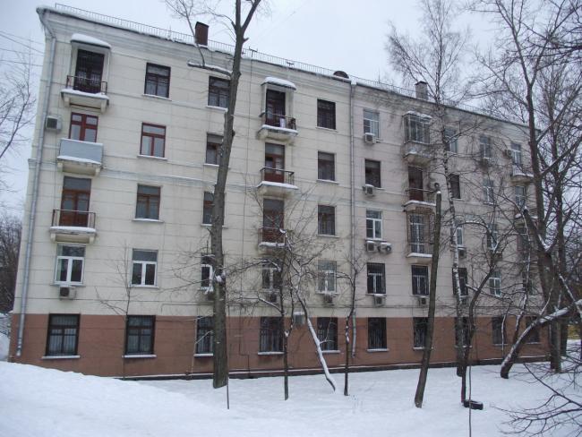 Москва, 5-я Магистральная улица, дом 14, корпус 2, Серия II-01 (САО, район Хорошевский)