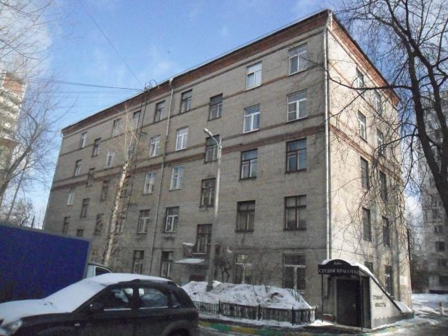 Москва, улица Артюхиной, дом 2, Серия II-01 (ЮВАО, район Текстильщики)