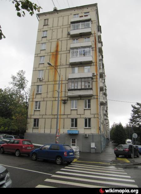 Москва, улица Хамовнический Вал, дом 28. Серия II-04 (ЦАО, район Хамовники)