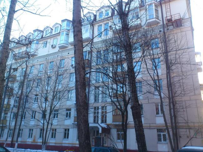 Москва, улица Строителей, дом 5, корпус 1. Серия II-05 (ЮЗАО, район Ломоносовский)